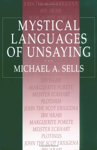 Mystical Languages of Unsaying   1994 (Reprint) edition cover