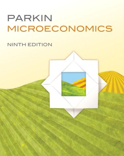 Microeconomics  9th 2010 edition cover