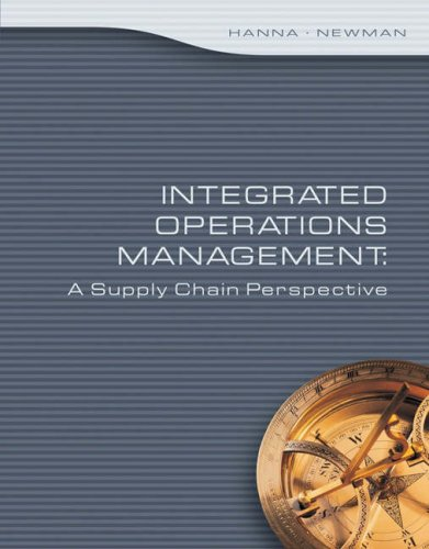 Integrated Operations Management A Supply Chain Perspective 2nd 2007 (Revised) edition cover