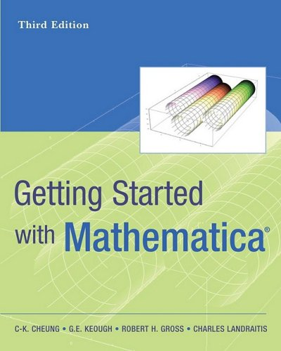 Getting Started with Mathematica  3rd 2009 edition cover
