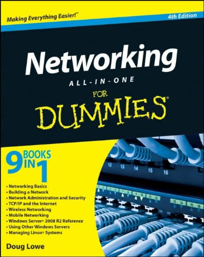 Networking All-in-One for Dummies  4th 2011 edition cover