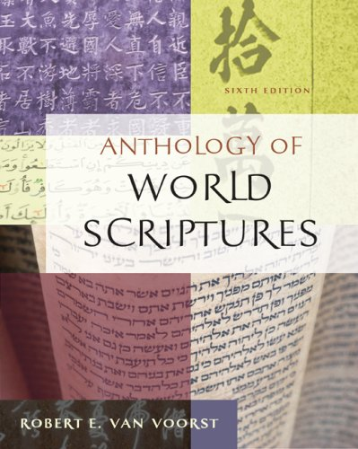 Anthology of World Scriptures  6th 2008 9780495503873 Front Cover
