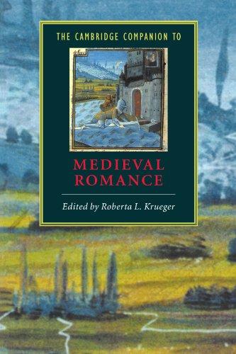 Cambridge Companion to Medieval Romance   2000 edition cover