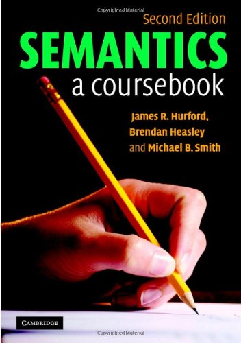 Semantics A Coursebook 2nd 2007 (Revised) edition cover
