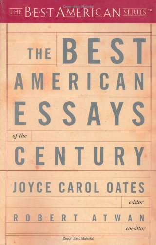 Best American Essays of the Century   2001 (Reprint) edition cover