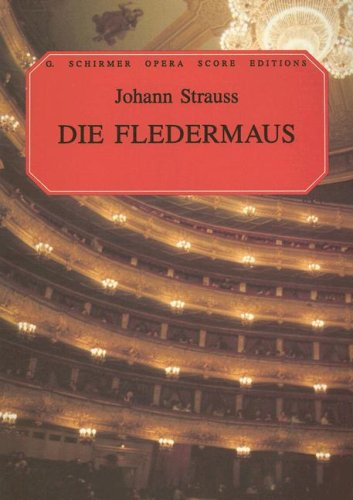 Die Fledermaus Vocal Score N/A edition cover