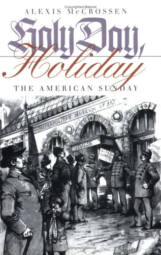 Holy Day, Holiday The American Sunday  2000 edition cover