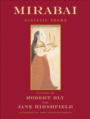 Mirabai Ecstatic Poems  1974 edition cover