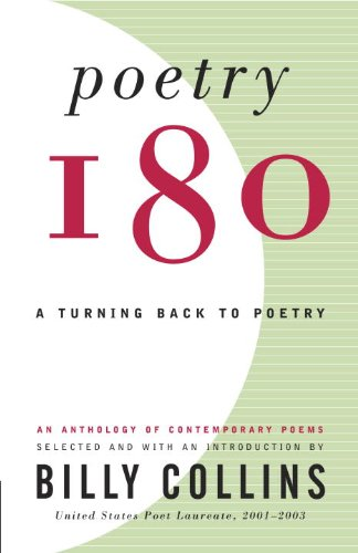 Poetry 180 A Turning Back to Poetry  2003 edition cover
