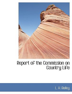 Report of the Commission on Country Life N/A edition cover