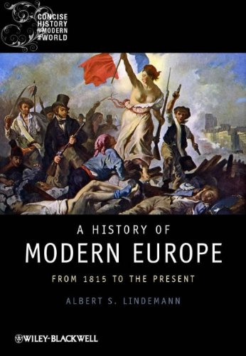 History of Modern Europe From 1815 to the Present  2011 edition cover