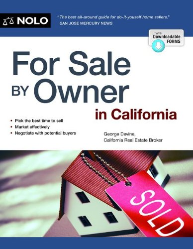 For Sale by Owner in California  11th edition cover