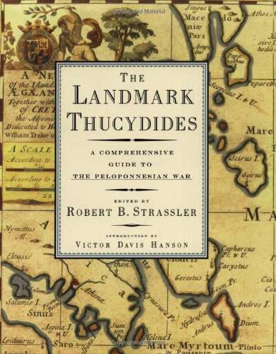 Landmark Thucydides A Comprehensive Guide to the Peloponnesian War N/A edition cover