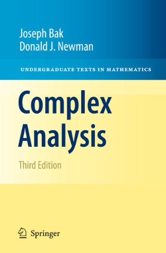 Complex Analysis  3rd 2010 edition cover