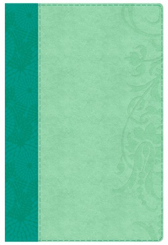Study Bible for Women, Teal/Sage LeatherTouch   2014 edition cover