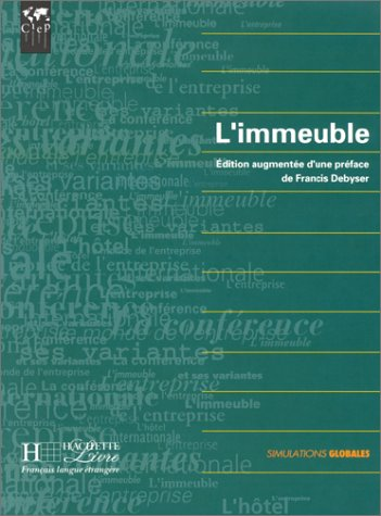 LIMMEUBLE 1st edition cover
