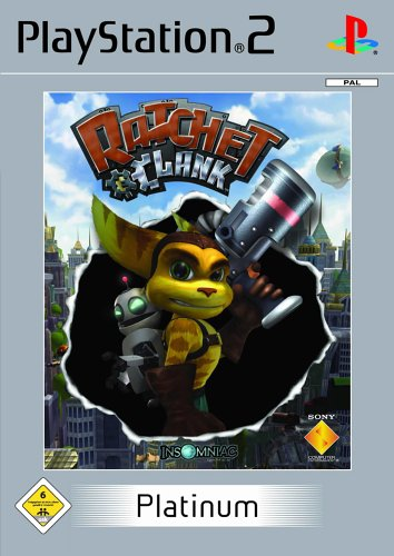 Ratchet & Clank [Platinum] PlayStation2 artwork
