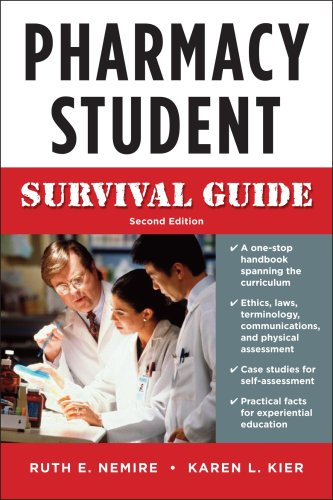 Pharmacy Student Survival Guide  2nd 2009 (Student Manual, Study Guide, etc.) edition cover
