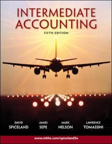 Intermediate Accounting  5th 2009 9780073526874 Front Cover