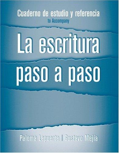 Cuaderno de Estudio y Referencia for la Escritura Paso a Paso   2008 edition cover