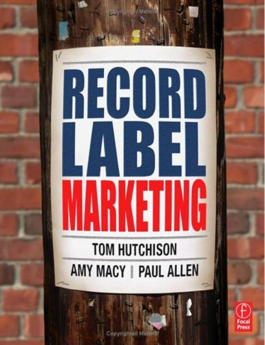 Record Label Marketing   2005 9780240807874 Front Cover