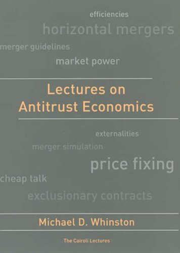 Lectures on Antitrust Economics   2008 edition cover