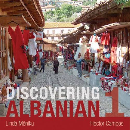 Discovering Albanian:  2011 edition cover