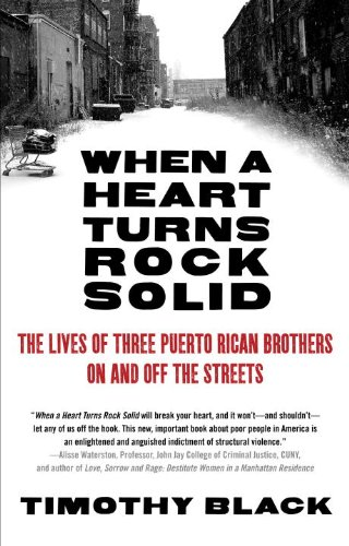 When a Heart Turns Rock Solid The Lives of Three Puerto Rican Brothers on and off the Streets N/A edition cover