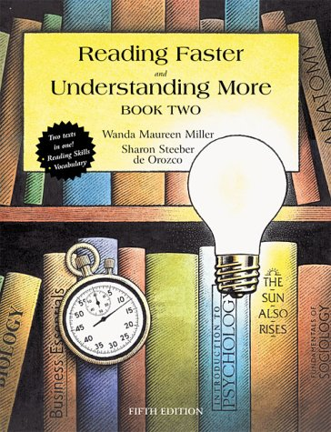 Reading Faster and Understanding More  5th 2001 (Revised) 9780321045874 Front Cover