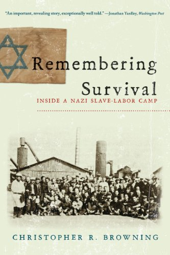 Remembering Survival Inside a Nazi Slave-Labor Camp  2011 edition cover