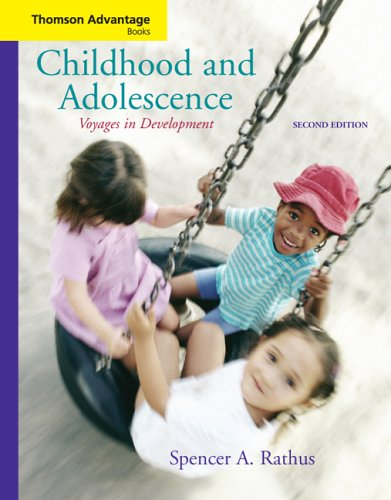 Voyages in Development Childhood and Adolescence 2nd 2006 (Revised) 9780495030874 Front Cover