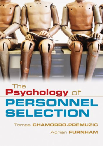 Psychology of Personnel Selection   2010 edition cover