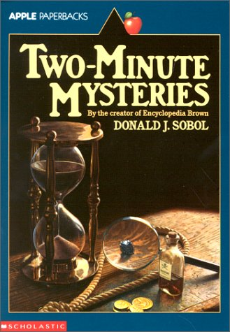 Two-Minute Mysteries   1967 edition cover