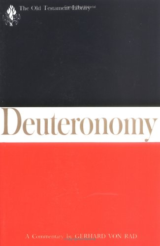 Deuteronomy A Commentary N/A 9780664221874 Front Cover