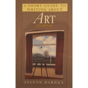 Short Guide to Writing about Art  5th 1997 edition cover