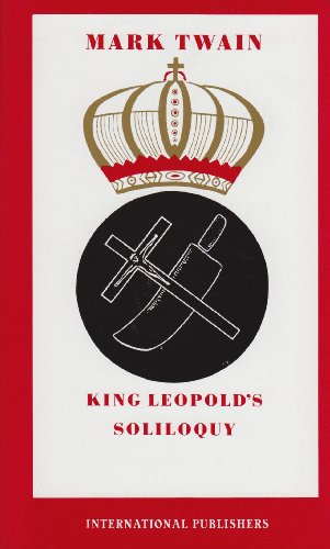 King Leopold's Soliloquy  N/A edition cover