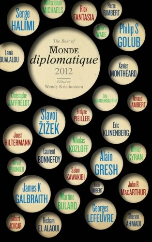 Best of le Monde Diplomatique 2012  N/A 9780745331874 Front Cover