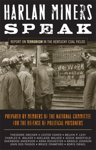 Harlan Miners Speak Report on Terrorism in the Kentucky Coal Fields  2008 edition cover