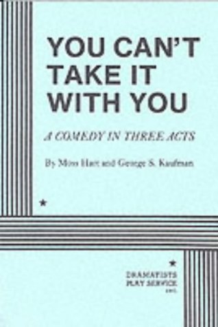 You Can't Take It with You  N/A edition cover