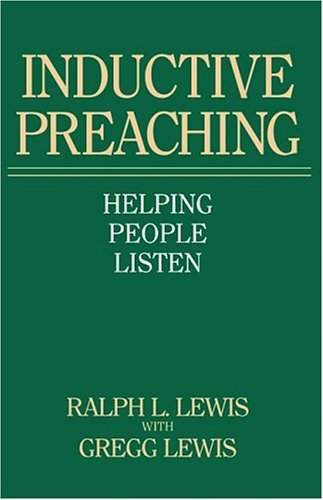 Inductive Preaching Helping People Listen  1983 edition cover