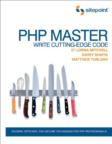 PHP Master Write Cutting-Edge Code  2011 edition cover