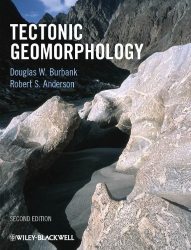 Tectonic Geomorphology  2nd 2011 9781444338874 Front Cover