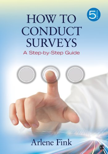 How to Conduct Surveys A Step-by-Step Guide 5th 2013 edition cover