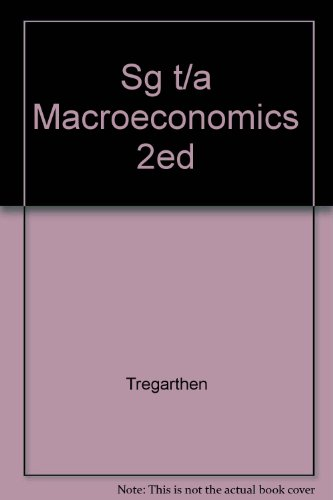 Macroeconomics  2nd 2000 (Guide (Pupil's)) 9781572598874 Front Cover