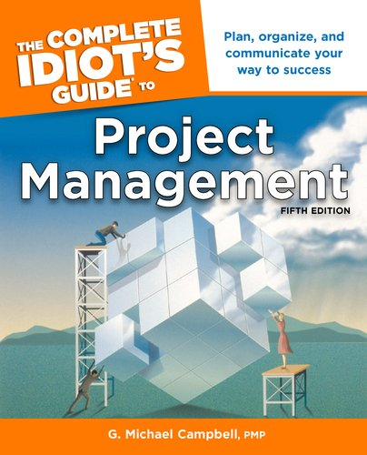 Complete Idiot's Guide to Project Management  5th 2011 edition cover