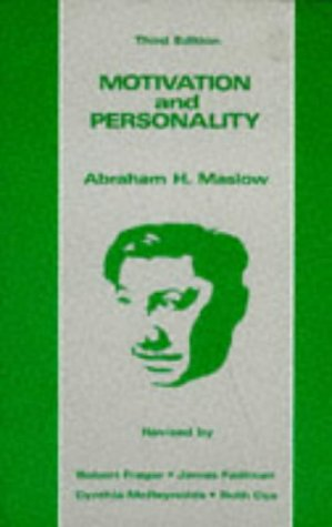 Motivation and Personality  3rd 1987 edition cover