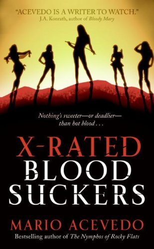 X-Rated Bloodsuckers  N/A 9780061438875 Front Cover