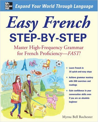 Easy French Step-by-Step   2009 edition cover