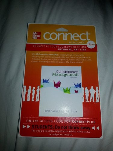 CONTEMPORARY MANAGEMENT-ACCESS (1 SEM.) N/A 9780077534875 Front Cover