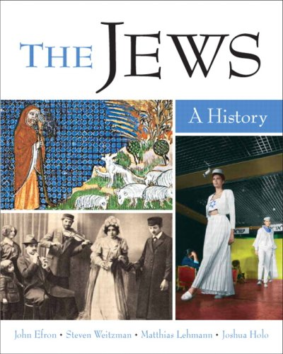 Jews A History  2009 edition cover
